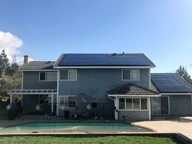 Tile Roof Solar Installation Project By T Amp G Roofing And